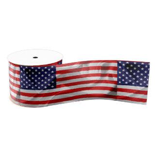 Ruban Gros-grain Le drapeau des Etats-Unis d'Amérique
