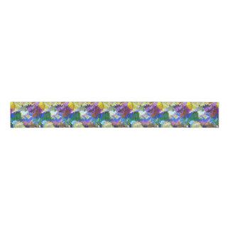 Ruban Gros-grain Ruban abstrait multicolore