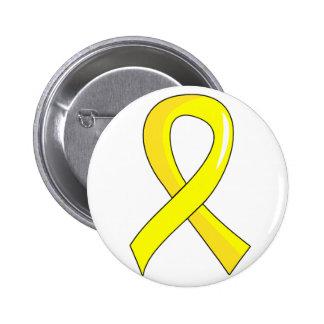 Ruban jaune 3 d'endométriose badge