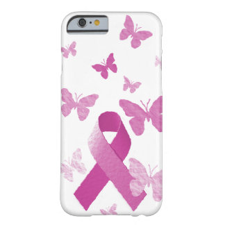 Ruban rose de conscience coque barely there iPhone 6