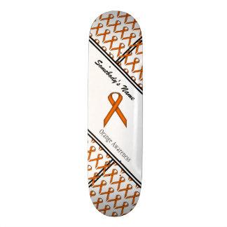 Ruban standard orange plateaux de skateboards