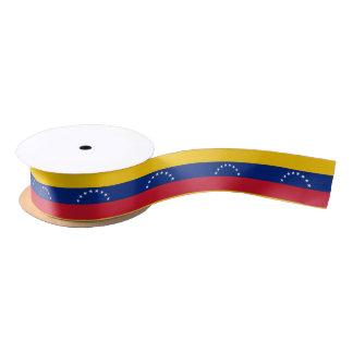 Ruban vénézuélien de drapeau ruban en satin