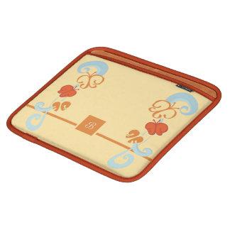 Rubans et Butterfiles Housse iPad