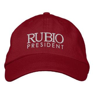 Rubio pour le président 2016 casquette brodée