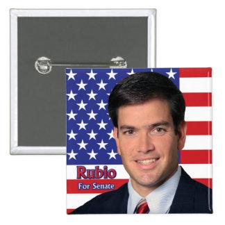Rubio pour le sénat badges