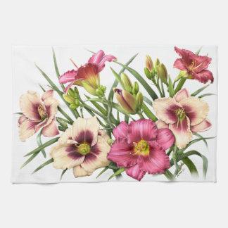 Rubis de bouquet de Daylily Linges De Cuisine