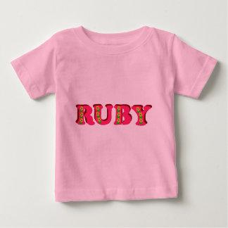 Rubis T-shirt Pour Bébé