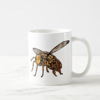 Ruche d'abeille dans l'abeille mug