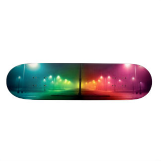 Rue colorée skateboards cutomisables