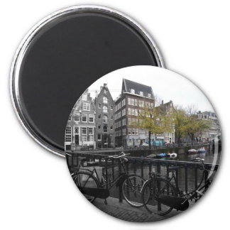 Rue d'Amsterdam Magnet Rond 8 Cm