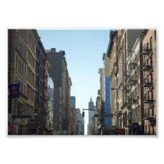 Rue dans le Lower Manhattan Photos