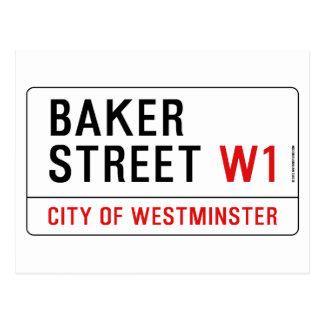 Rue de Baker Carte Postale