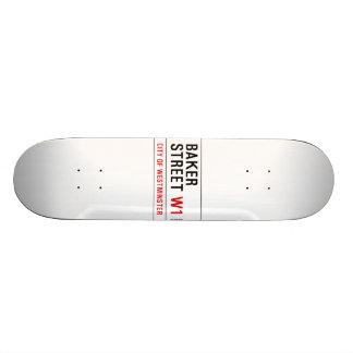 Rue de Baker Skateboards Personnalisés