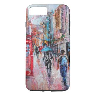 Rue de Carnaby de jour pluvieux Coque iPhone 7 Plus