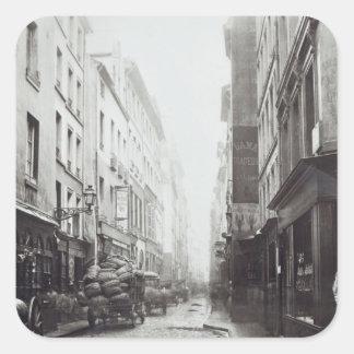 Rue de la Grande Truanderie Sticker Carré