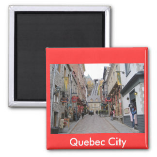 Rue de Québec Magnet Carré