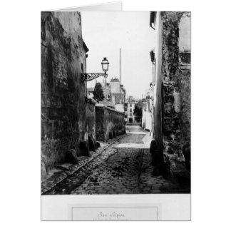 Rue de Scipion Carte De Vœux