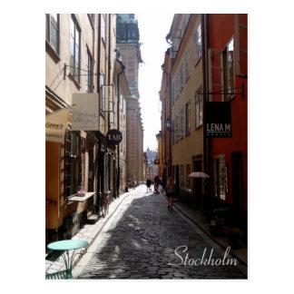 Rue de Stockholm Carte Postale