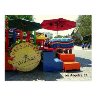 Rue d'Olvera, carte postale de Los Angeles !