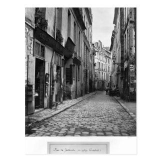 Rue du Jardinet, de passage Hautefeuille, Carte Postale