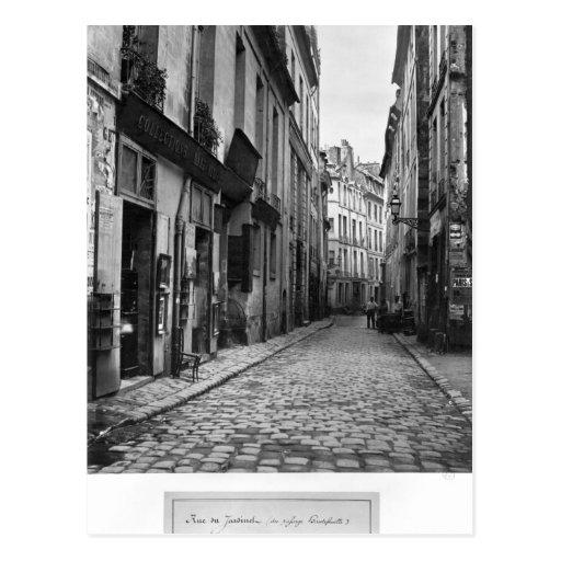 Rue du Jardinet, de passage Hautefeuille, Cartes Postales