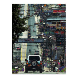 Rue, Guatemala Carte Postale