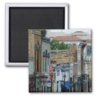 Rue historique magnet carré