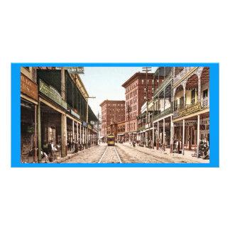 Rue la Nouvelle-Orléans 1900 de St Charles Cartes Avec Photo