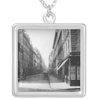 Rue Laffitte Pendentif Carré