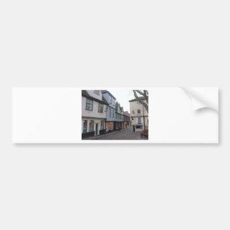 Rue pavée en cailloutis adhésif pour voiture