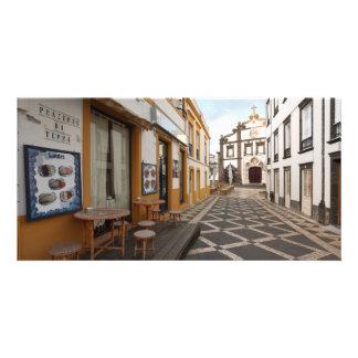 Rue piétonnière cartes avec photo