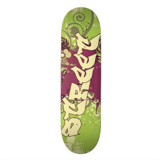 Rue Plateaux De Skateboards