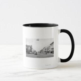 Rue principale dans Walla Walla, photographie de Mug