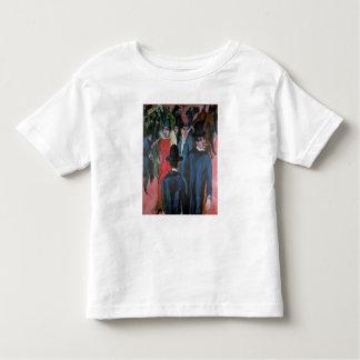 Rue Scene, 1913 de Berlin T-shirt Pour Les Tous Petits