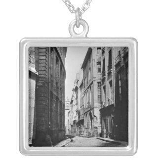 Rue Serpente, Paris, 1858-78 Pendentif Carré