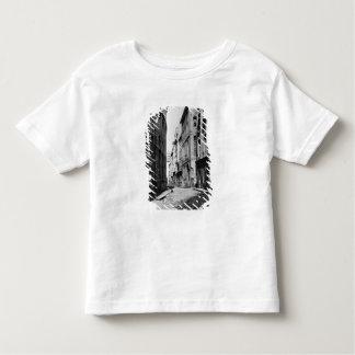 Rue Serpente, Paris, 1858-78 T-shirt Pour Les Tous Petits