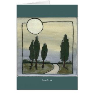 Ruelle de Luna Carte De Vœux