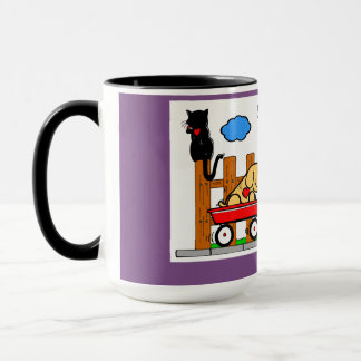 Ruelle heureuse mug