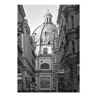 Ruelles de la partie centrale de Vienne Impression Photo