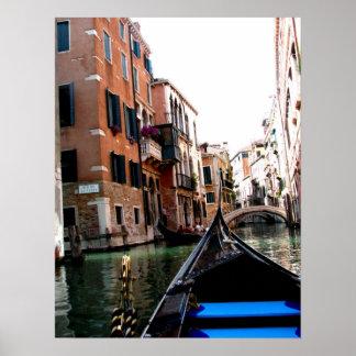 Rues d'affiche de Venise
