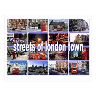 rues de carte postale de Londres