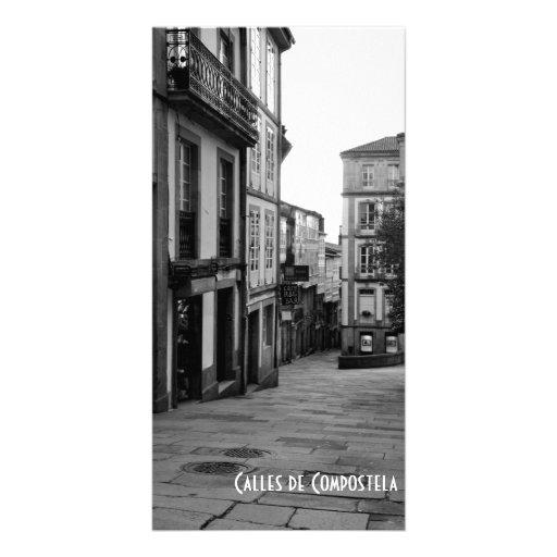 Rues de Compostela Photocartes Personnalisées