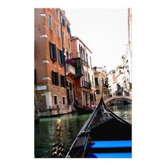 Rues de Venise Papier À Lettre Customisé