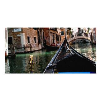 Rues de Venise Photocarte Personnalisée