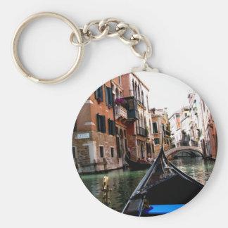 Rues de Venise Porte-clé Rond