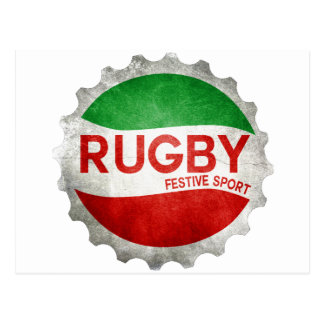 rugby basque festive sport carte postale