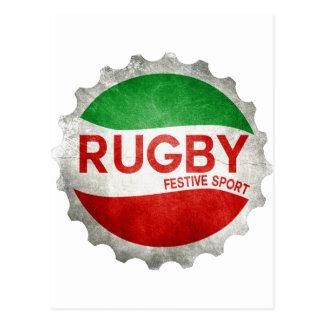 rugby basque festive sport cartes postales