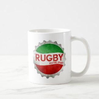 rugby basque festive sport mug blanc