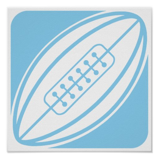 Rugby de bleus layette posters