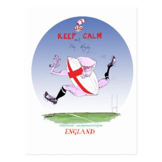rugby de l'Angleterre, fernandes élégants Cartes Postales
